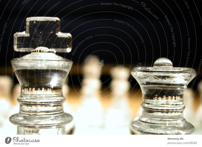 altes Paar paarweise Dame König Schach Schachfigur Spielfigur