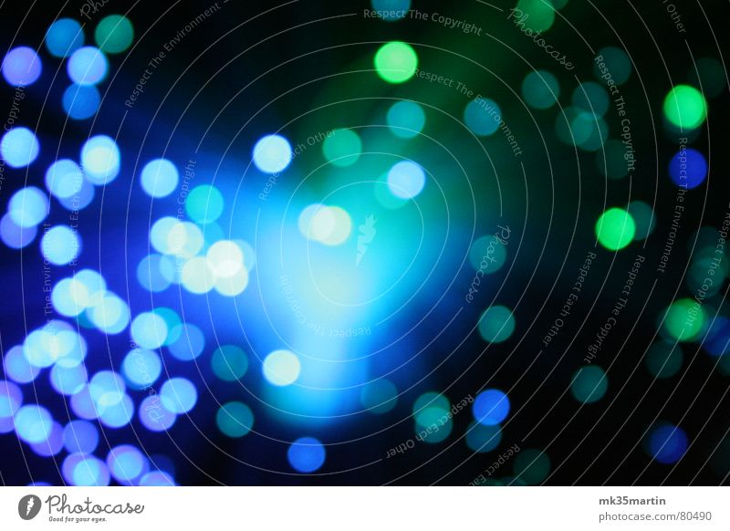 blue light grün blau Farbe weich Punkt obskur durcheinander unklar Lichtpunkt Lichteinfall Lichtschein Lichtstrahl ungenau lichtmagnetisch Streulicht Fuzzy Q. Jones