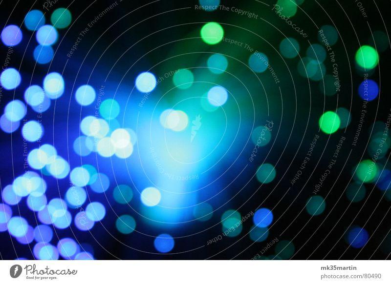 blue light grün blau Farbe weich Punkt obskur durcheinander unklar Lichtpunkt Lichteinfall Lichtschein Lichtstrahl ungenau lichtmagnetisch Streulicht