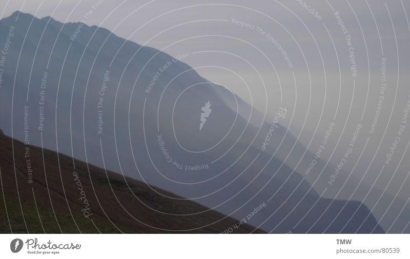 Monte Baldo Garda Italien Luft Himmel Berge u. Gebirge hoch mountain distance sky