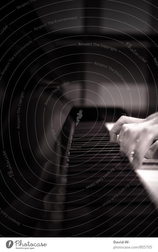 Künstler elegant Freizeit & Hobby Klavier spielen lernen Schüler Lehrer Studium Student Prüfung & Examen Handwerk Karriere Mensch Finger 1 Kunst Bühne Kultur