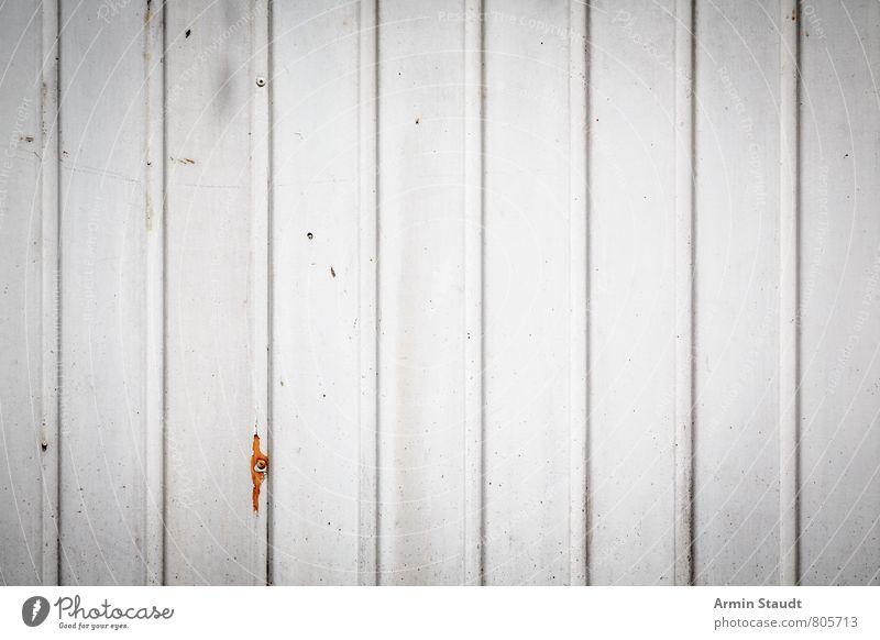 Alte weiße Bretterwand alt Stadt Wand Mauer Hintergrundbild Linie Fassade dreckig Design authentisch einfach Riss Holzbrett trashig gestreift