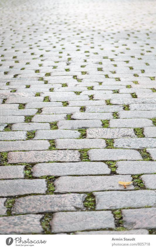 Kopfsteinpflaster Design Stadt Straße alt authentisch dreckig fest historisch retro trist grau Stimmung Nostalgie Perspektive Berlin Kreuzberg Hintergrundbild