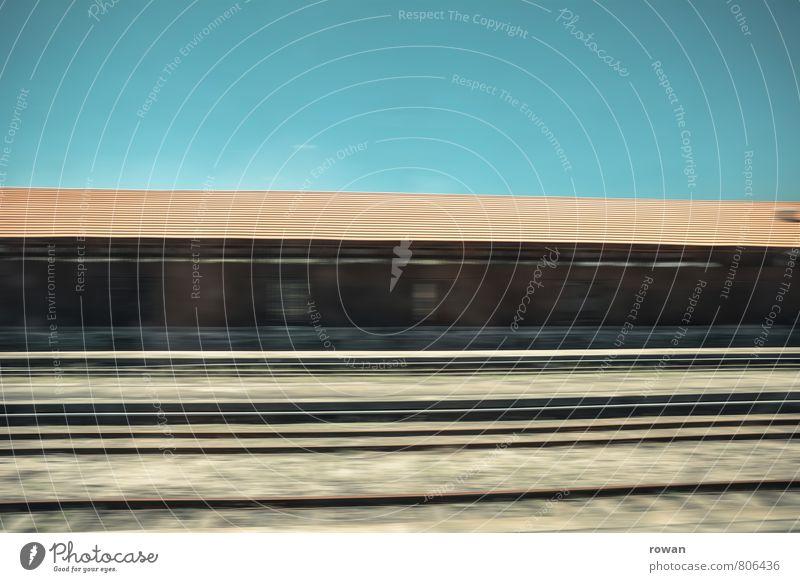 zugfahren Güterverkehr & Logistik Schienenverkehr Bahnfahren Eisenbahn Güterzug Bahnhof Bahnsteig Gleise Schienennetz Zugabteil Geschwindigkeit