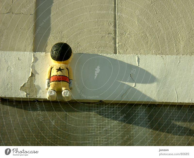 Berlinerei Wand Stil Kunst Kreativität Außerirdischer Astronaut Friedrichshain Kunsthandwerk Wissenschaftler