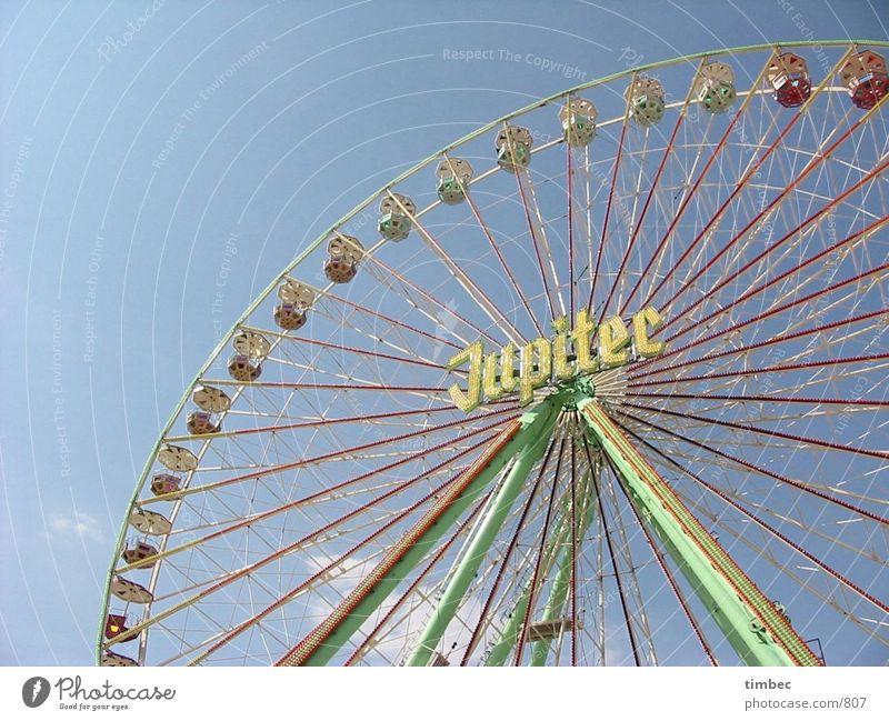 Riesenrad die 2. Dinge Jahrmarkt Riesenrad Aachen Bendplatz