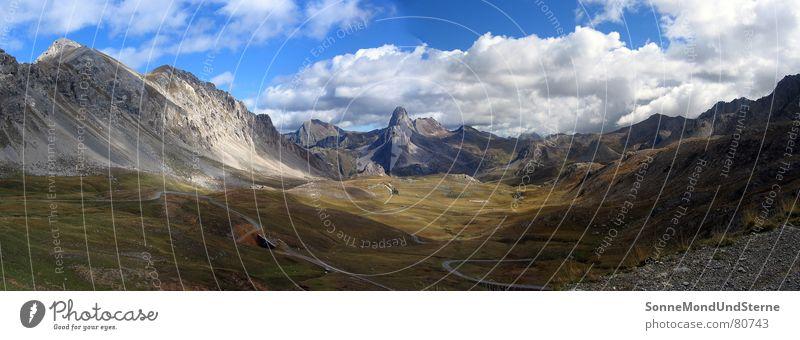 Hochtal im Piemont ruhig Einsamkeit Ferne Berge u. Gebirge Wege & Pfade Denken Italien Ödland abgelegen ursprünglich Berghütte
