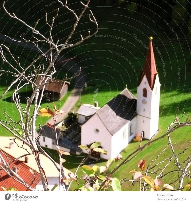 Dorfkirche Natur Religion & Glaube Zufriedenheit Ast Spielzeug Gebet Österreich Geäst Bundesland Tirol Gotteshäuser