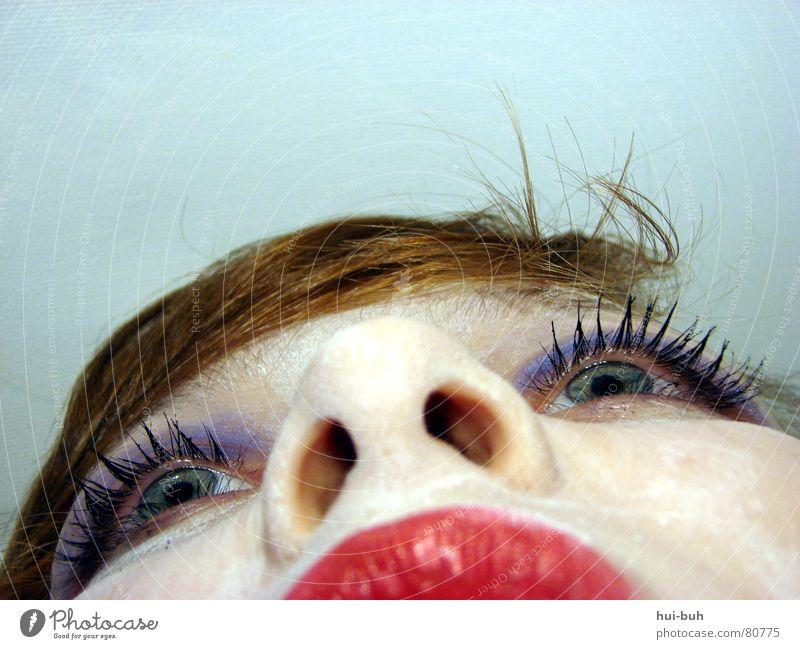 Sometimes other Mensch Jugendliche schön blau Gesicht Auge Einsamkeit Tod träumen Haare & Frisuren Kopf Denken Mund Nase Gedanke leer