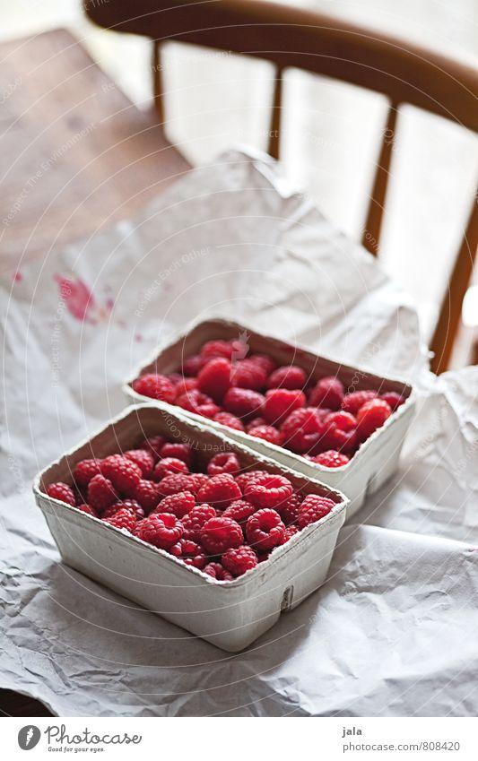himbeeren Gesunde Ernährung natürlich Gesundheit Lebensmittel Frucht frisch Tisch einfach süß Stuhl lecker Appetit & Hunger Bioprodukte Vitamin