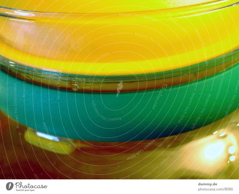 Reggi Kannen Makroaufnahme Nahaufnahme Farbe gleb blau Tee kaz