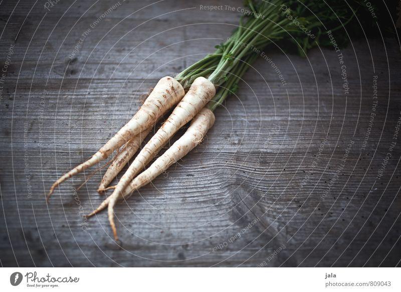 petersilienwurzel Gesunde Ernährung natürlich Gesundheit Lebensmittel frisch Gemüse lecker Appetit & Hunger Bioprodukte Vegetarische Ernährung Holztisch