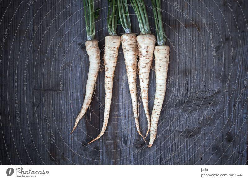 wurzelgemüse Gesunde Ernährung natürlich Gesundheit Lebensmittel frisch Gemüse lecker Appetit & Hunger Bioprodukte Vegetarische Ernährung Holztisch Wurzelgemüse