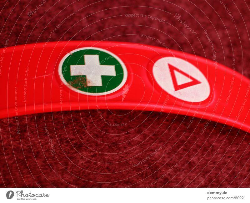 greencross grün rot Rücken Sicherheit