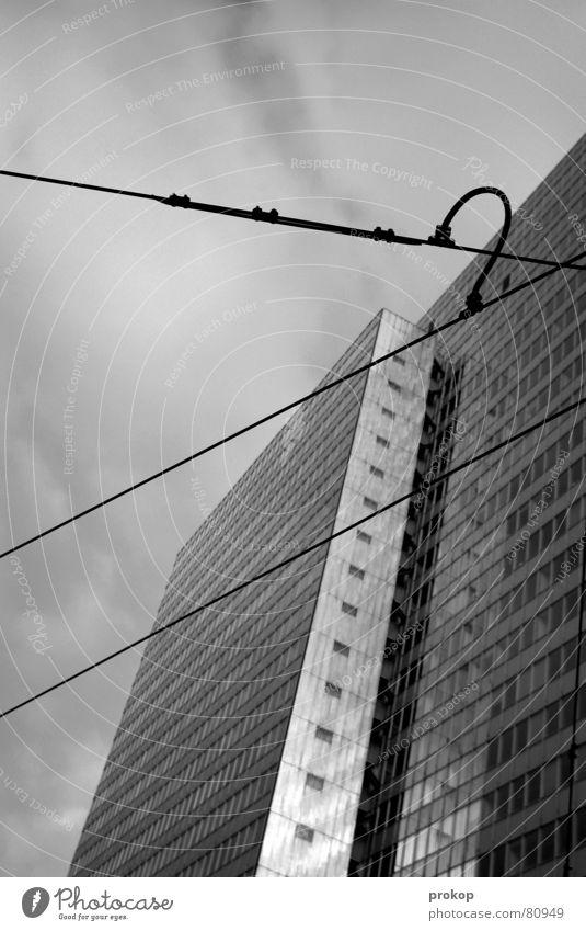 Disk Jockeys Delight Himmel Ferien & Urlaub & Reisen Wege & Pfade Lampe gehen laufen modern Hochhaus Kabel trist Macht Sturz Verbindung Langeweile Flucht