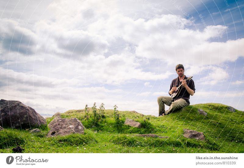 troubadix auf seinem lieblingsplatz Lifestyle harmonisch Wohlgefühl Zufriedenheit Sinnesorgane Erholung Ferien & Urlaub & Reisen Ausflug Sommer Sommerurlaub