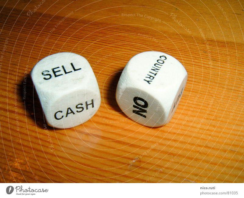 SELL COUNTRY Spielen Glück Business Würfel Geld Risiko Amerika verkaufen Politik & Staat Abteilung Spieler Besitz Holztisch Einsatz verdunkeln
