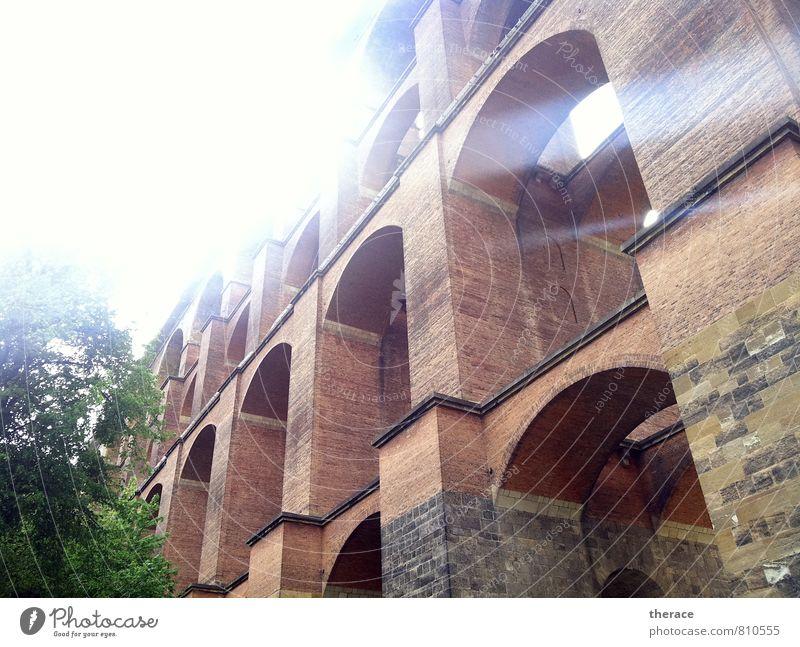 Göltzschtalbrücke Architektur wandern Brücke Macht Güterverkehr & Logistik Bauwerk Sehenswürdigkeit Backstein Bahnfahren Schienenverkehr Vogtlandkreis