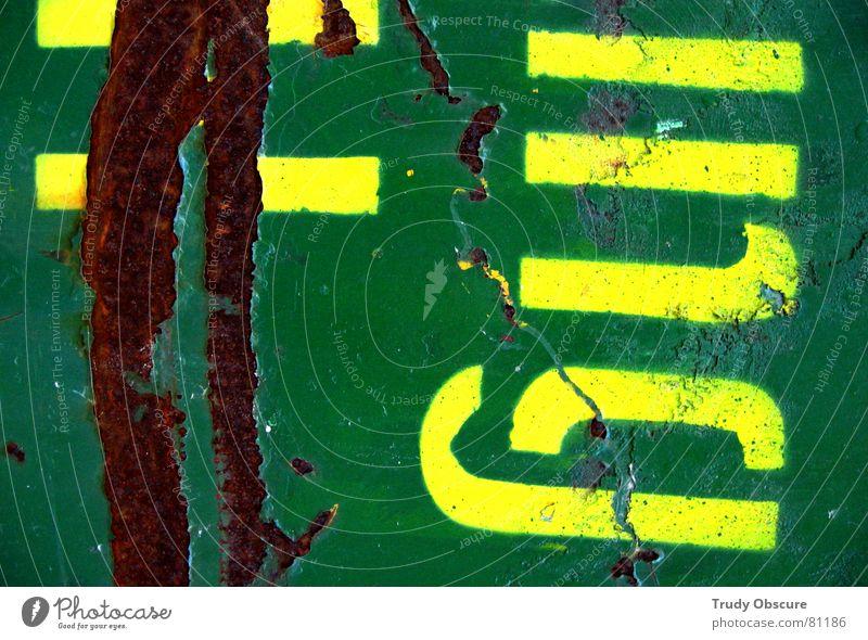 frogtoise II alt Farbe dunkel Arbeit & Erwerbstätigkeit braun Metall Kunst dreckig Hintergrundbild Schilder & Markierungen Schriftzeichen Bodenbelag Baustelle