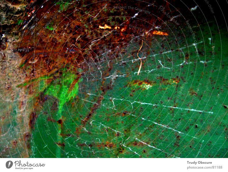 das netz Spinne Baugrundstück Hintergrundbild Oberfläche Eisen verfallen mehrfarbig Baustelle Arbeit & Erwerbstätigkeit dreckig dunkel Aussehen alt verfaulen