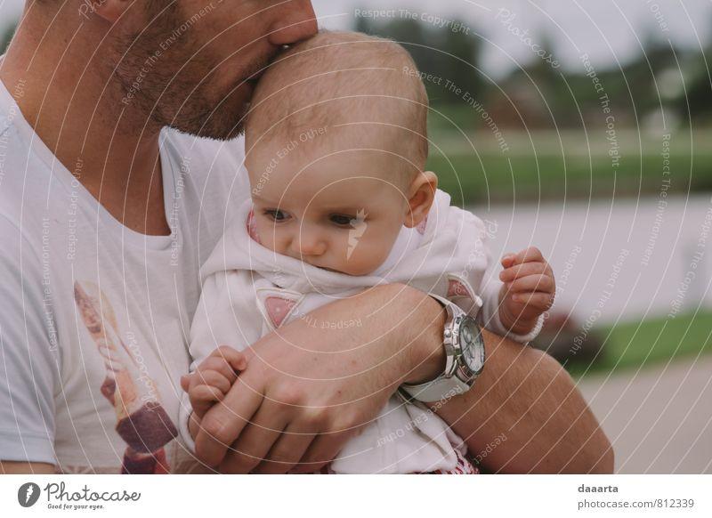 Mensch schön Erholung Mädchen Freude Erwachsene Wärme Leben Gesundheit maskulin Familie & Verwandtschaft authentisch Fröhlichkeit Baby genießen einfach