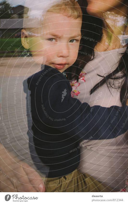 Kind schön Erholung Freude Wärme Leben Liebe Junge lustig Stil Gesundheit Familie & Verwandtschaft authentisch frisch Fröhlichkeit genießen
