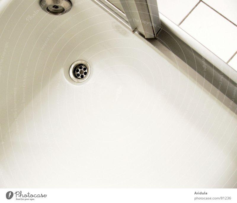 dusche_01 Wasser Tür trist Bad Fliesen u. Kacheln Dusche (Installation) silber Badewanne Abfluss Haushalt Becken Chrom lichtvoll farbneutral Streulicht Duschwanne