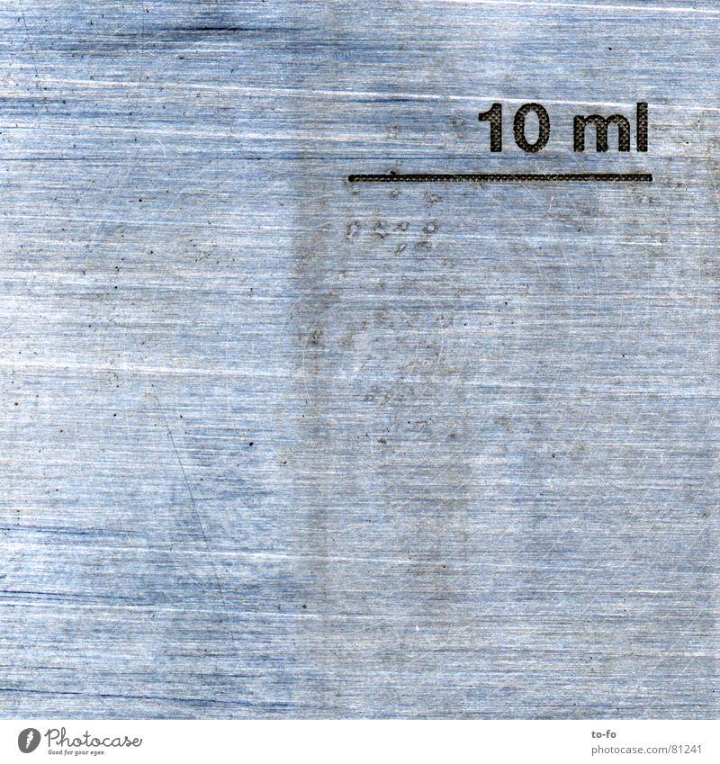 Klischee Druckerei Oberfläche technisch Industrie Handwerk Makroaufnahme Nahaufnahme tampondruck eichstrich druckverfahren Metall Strukturen & Formen Farbe