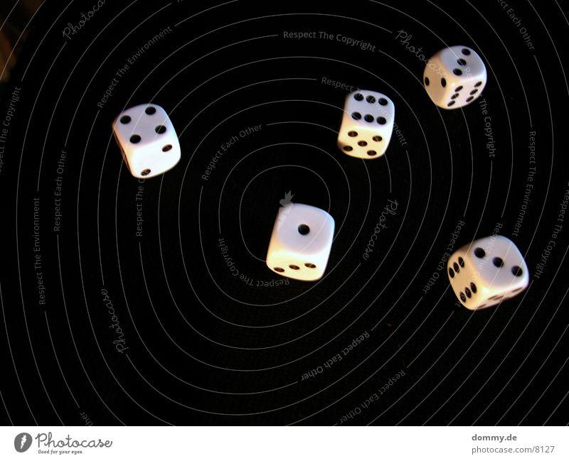 Tag des Würfels 2 schwarz Makroaufnahme Nahaufnahme Ziffern & Zahlen