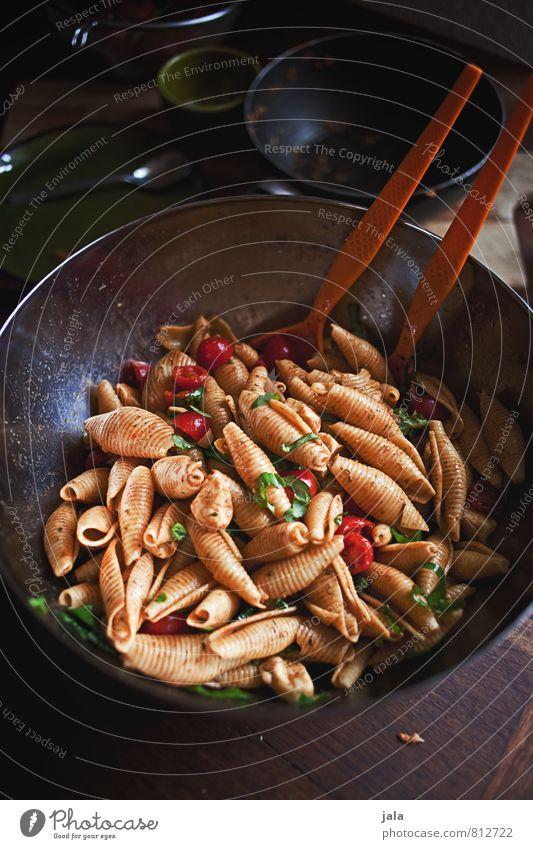 nudelsalat Gesunde Ernährung natürlich Gesundheit Lebensmittel frisch lecker Appetit & Hunger Bioprodukte Schalen & Schüsseln Backwaren Abendessen Mittagessen