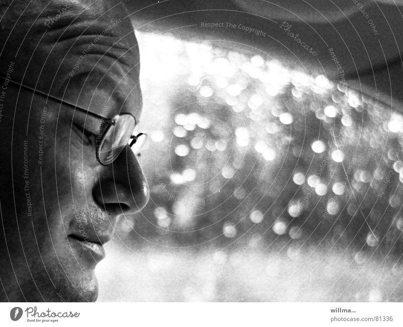 stadtplanschweiß Autofahren Autofahrer transpirieren Schweiß Konzentration Regen Orientierung Ferien & Urlaub & Reisen Straßenverkehr PKW Brille Stress