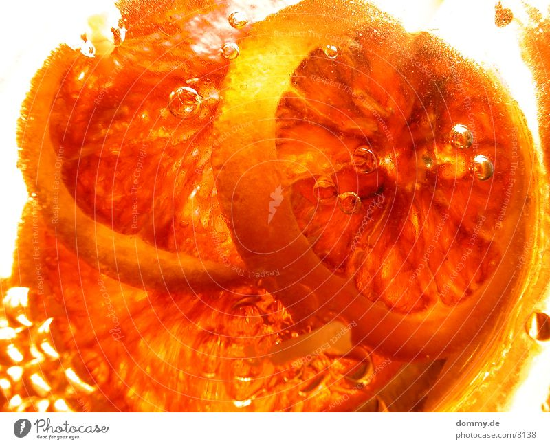 Orange orange Gesundheit Kerze Duft Gel