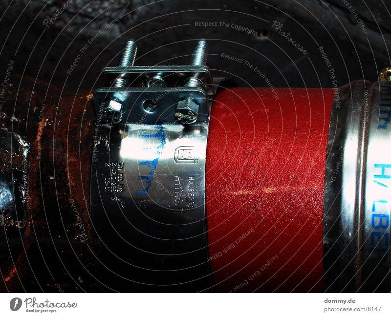 zusammenhalter blau rot Schraube Aluminium
