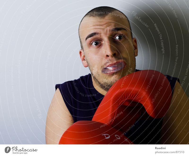 Angstgegner Hand Gesicht Sport lachen Angst Erfolg groß Kreis Finger rund Verstand Schmerz Gesichtsausdruck Jahrmarkt Gewalt Sport-Training