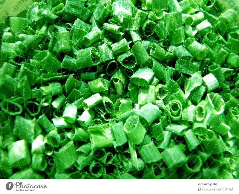Schnittlauch grün Blatt lecker Gesundheit
