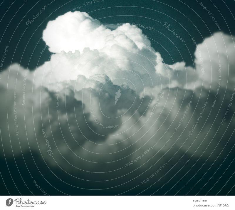 .. vergessen ... schön Himmel blau Wolken Regen Wetter Freundlichkeit Schönes Wetter Wetterdienst auftürmen