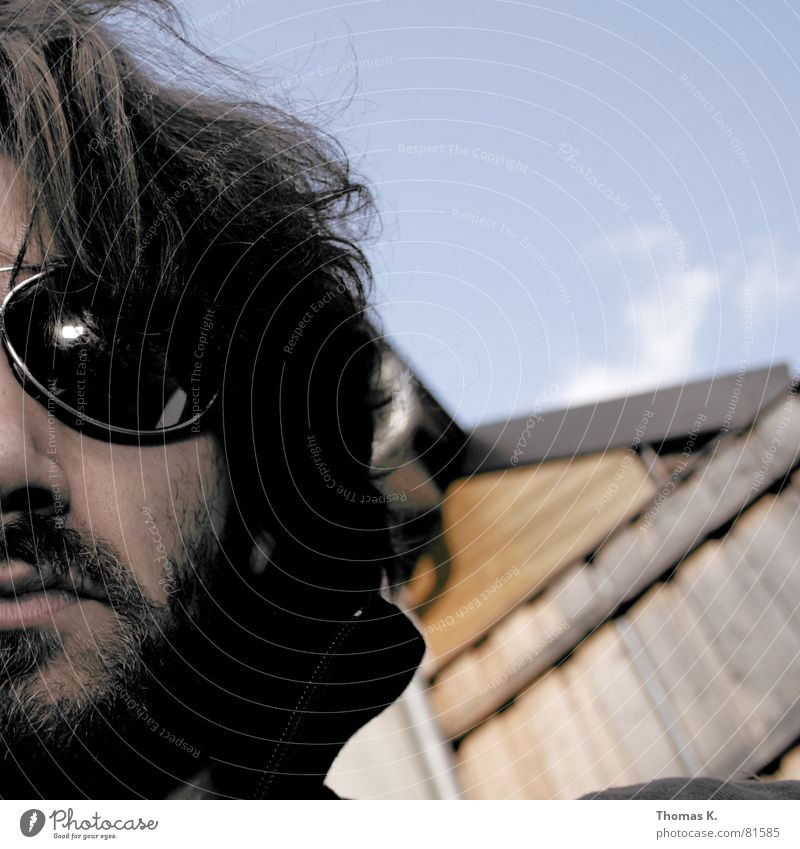 Spam (oder™:nicht ?) Mensch Gesicht Kopf Haare & Frisuren Glas Arme Haut Nase Brille T-Shirt Spitze lang Brust Bart Tattoo Schulter