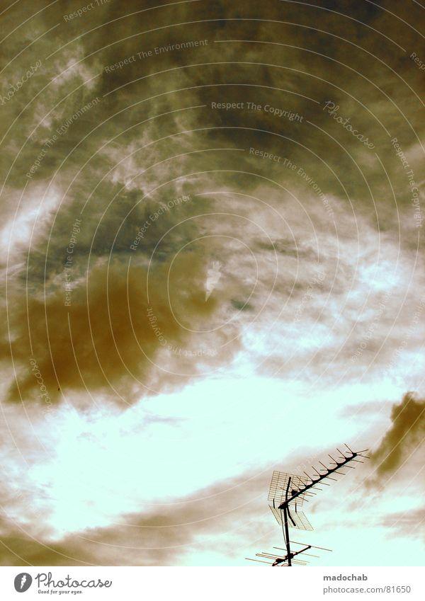 NO SUBTITLE Himmel blau Wolken Herbst Freiheit fliegen oben Regen Wetter Nebel Angst Kommunizieren nass Schönes Wetter Unendlichkeit fallen