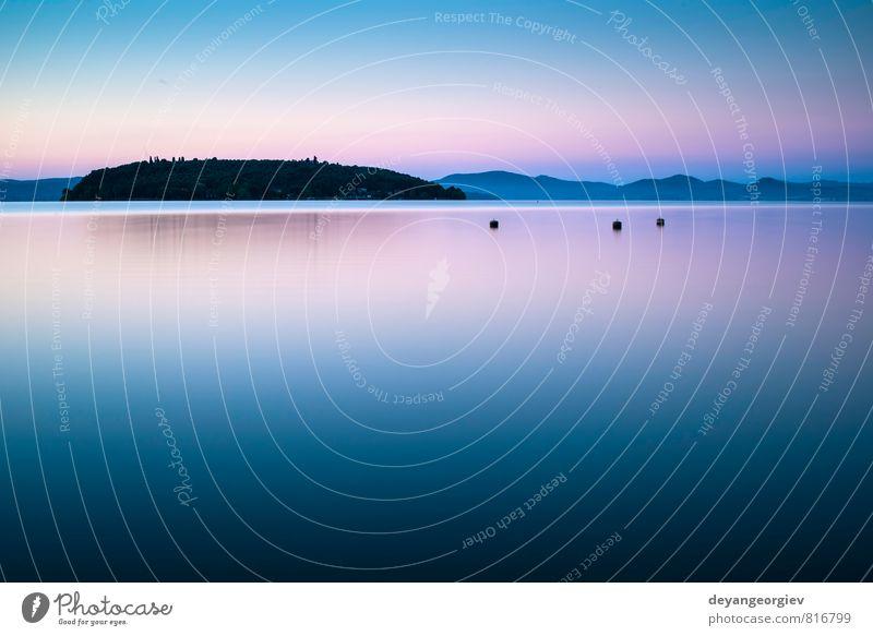 Himmel Natur Ferien & Urlaub & Reisen blau schön Sommer Sonne Baum Landschaft Wolken Wald Umwelt Berge u. Gebirge Küste natürlich See