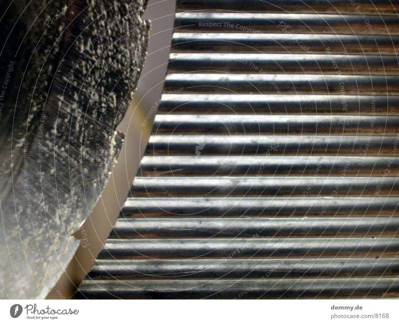 scharfe Sache 1 Fensterscheibe Furche Messer Aluminium