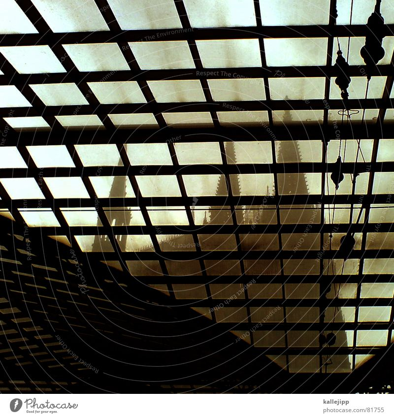 wir lassen den dom in kölle... Handy-Kamera Gotik Jahrhundertbauwerk Nordrhein-Westfalen Köln Wahrzeichen Kunst Denkmal Katholizismus Glasdach Kölner Dom