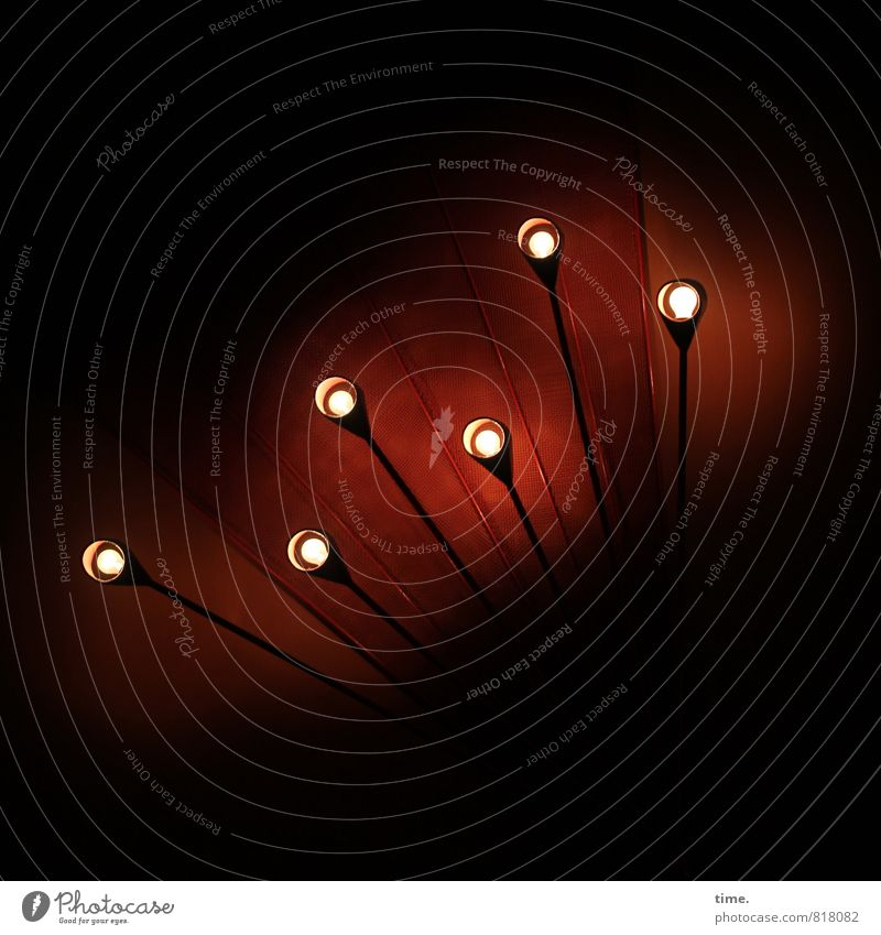 Gruppenfeeling | Erleuchtung im Kollektiv Stadt Lampe hell Energiewirtschaft leuchten Design Perspektive Elektrizität Technik & Technologie ästhetisch