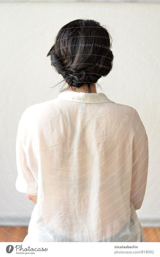 MP81 - Schüchtern Mensch Frau Jugendliche schön Junge Frau ruhig 18-30 Jahre Erwachsene feminin Stil Haare & Frisuren Zufriedenheit warten weich Hoffnung Glaube