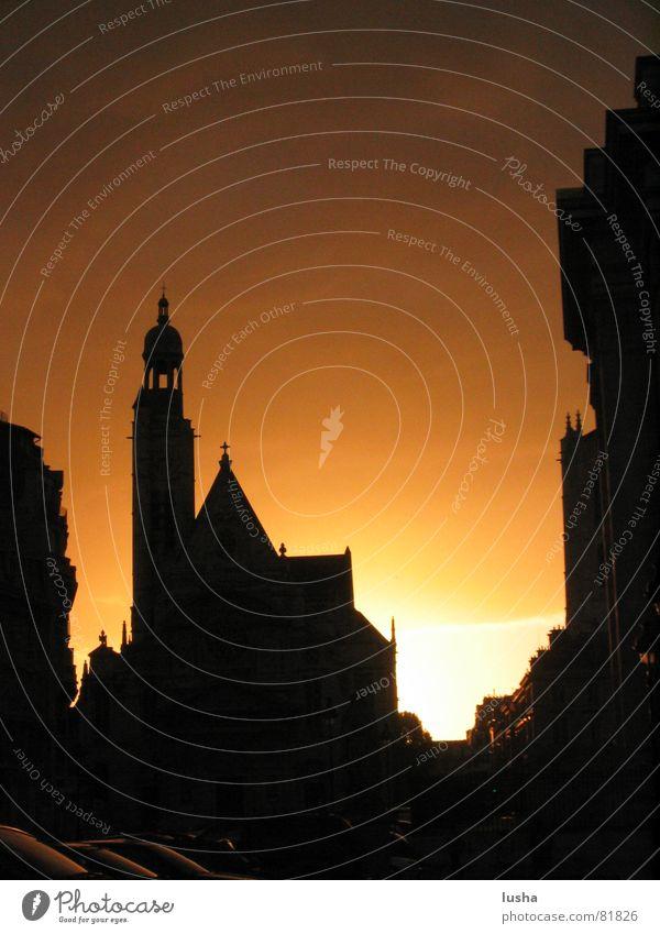Sonnenaufgang Quartier Latin Sonne Religion & Glaube Paris Frankreich Panthéon