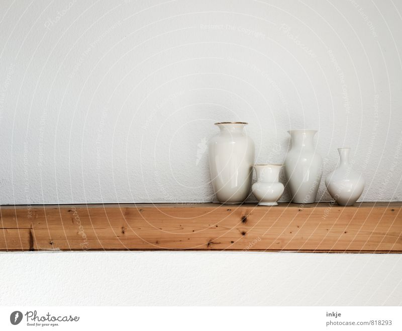 4 weiß Wand Innenarchitektur Mauer Stil oben braun Lifestyle Häusliches Leben Design gold Dekoration & Verzierung historisch Sammlung Anhäufung Verschiedenheit