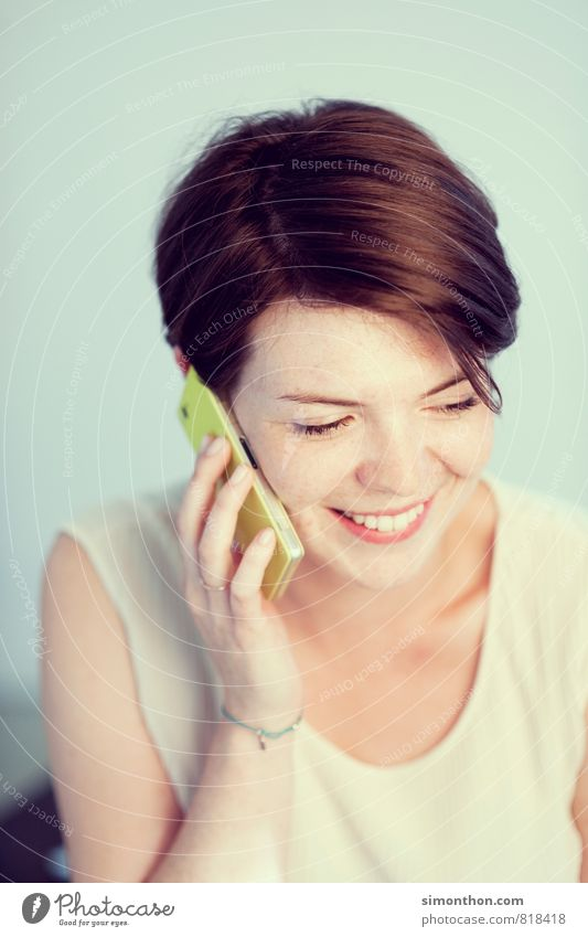 Quatschen Jugendliche Freude Leben Liebe sprechen feminin Glück Lifestyle Business Freundschaft Häusliches Leben Büro Erfolg Kommunizieren Lebensfreude Studium