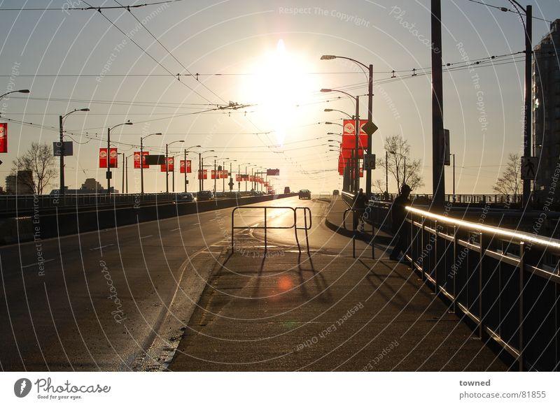 across the rainbow? Stadt Winter Brücke Casting