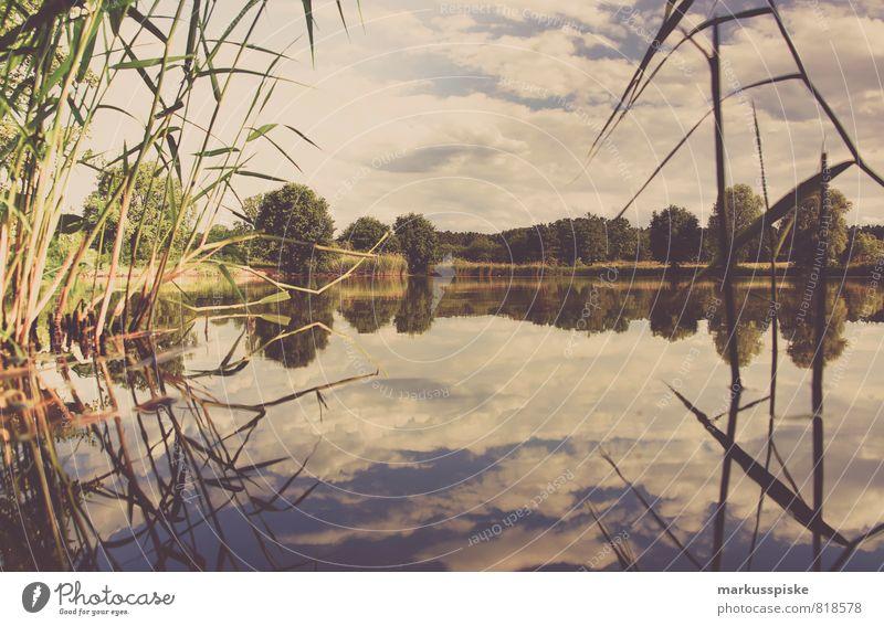 neuweiher angeln Natur Ferien & Urlaub & Reisen Sommer Landschaft Freude Umwelt Wiese Schwimmen & Baden Freiheit See Freizeit & Hobby Feld Abenteuer Seeufer