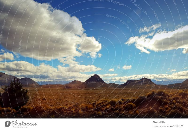 On the Road, again. Himmel Natur Ferien & Urlaub & Reisen Sonne Landschaft Wolken Reisefotografie Stimmung