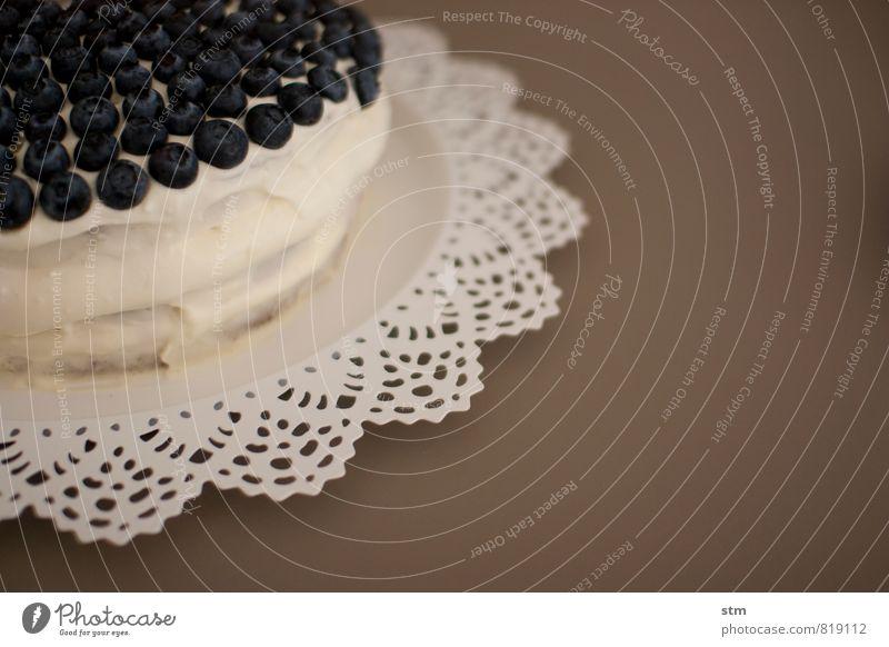 blaubeer.joghurt.kardamom SAHNE Feste & Feiern Lebensmittel Frucht Geburtstag Ernährung genießen Spitze süß Kaffee Süßwaren Kuchen Dessert Teller Sahne